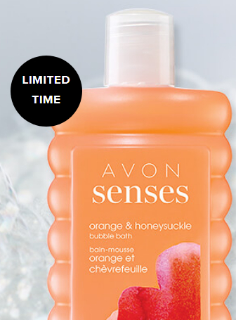 Avon Coupon Code - Free Senses Bubble Bath