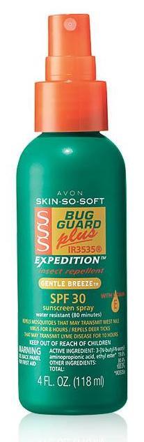 Skin So Soft Bug Guard Plus IR3535® Expedition™ SPF 30 Pump Spray
