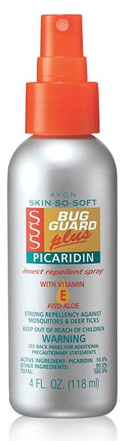Skin So Soft Bug Guard Plus Picaridin Travel Size Pump Spray
