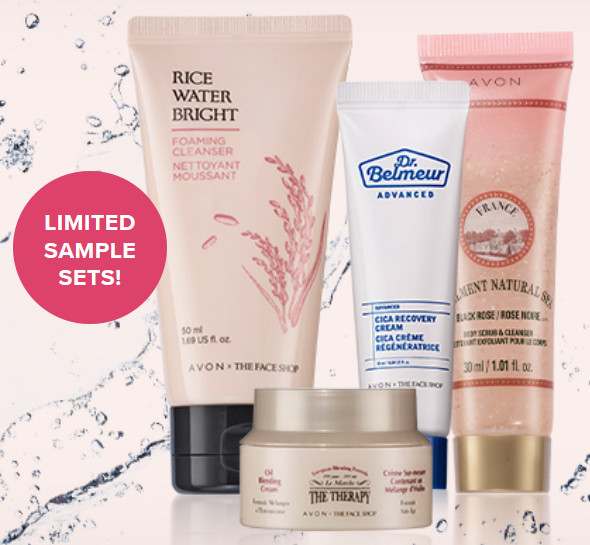 Free Deluxe Beauty Sampler on orders $50+. Use Code: FACESHOP