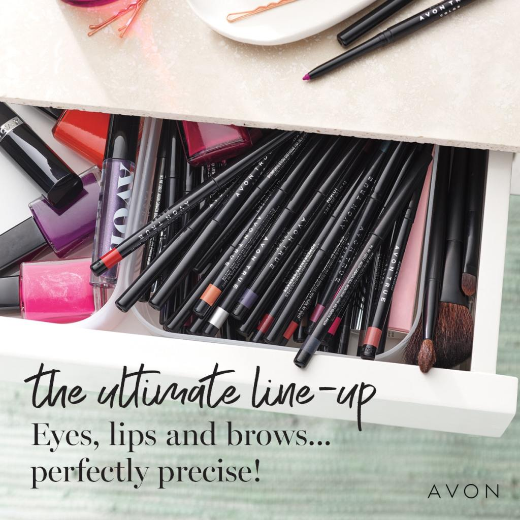 Buy AVON Online for eyes, lips and brows