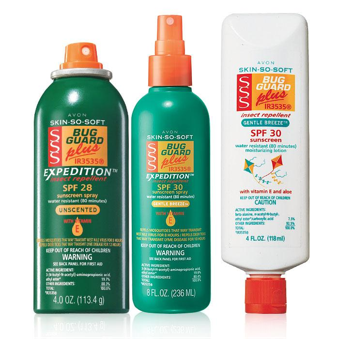 AVON Bug Guard Expedition Trio